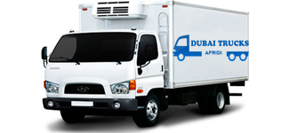Cold Storage Truck Rental Dubai