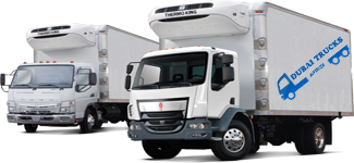 Rfrigerated Trucks Rental Dubai