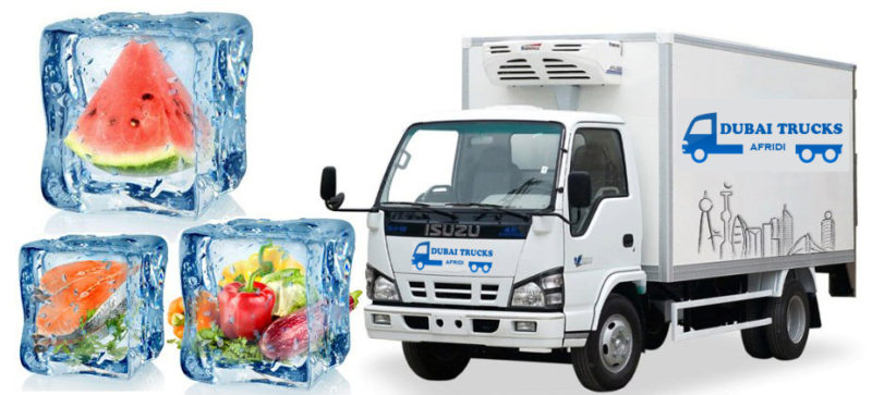 Refrigerated Trucks Rental Dubai