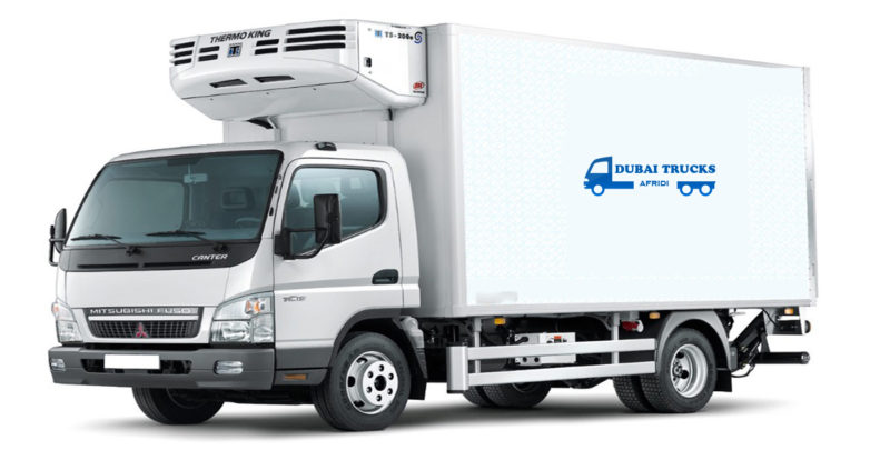 Freezer Trucks Rental Dubai